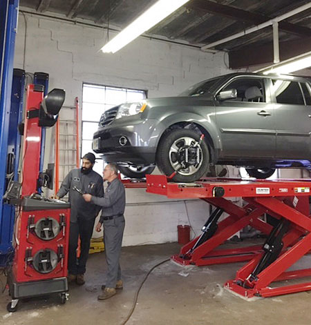 Picture of our auto service mechanics
